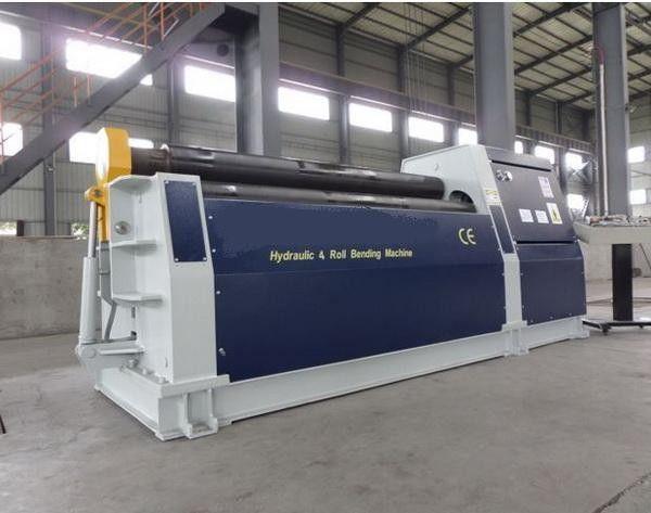 Sheet 4 Roll Plate Rolling Machine 4 Roller Bending Machine